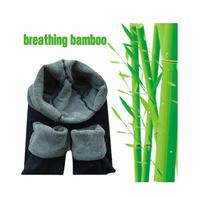 Promotion ! Double-thick bamboo fiber warm leggings women's autumn winter leggings black free shipping