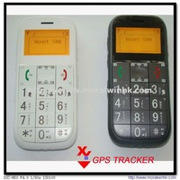 Senior phone with real-time position checking,FM radio,free platform service GPS LBS tracking security protection  GS503
