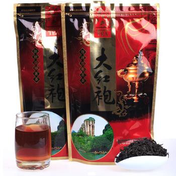 250g Dahong Pao Tea, Zip Seal bag Package,  High-Fire Wuyi Oolong Tea,Wuyi Wu-long Tea,Tea, loose weight ,CYY05, Free Shipping