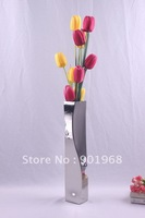 Bar office decor stainless steel flower pot-flower vase-vase