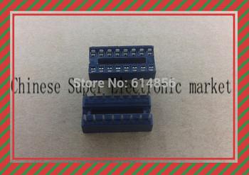 50pcs 16 Pin DIP SIP IC Sockets Adaptor Solder Type