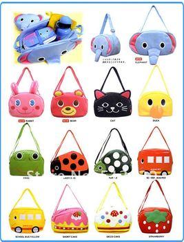 Free ship 5pcs/lot Big Size Wholesale Linda baby bag Children's shoulder bags cute Kids Schoolbag Satchel
