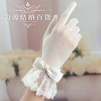 2013 Wedding gloves bridal gloves  fingerless gloves Ivory color