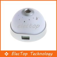 Free shipping Color LED Digital Night Light Projector Alarm Clock 50pcs/lot Wholesale