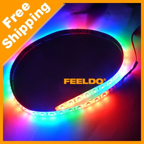 30cm 32LED 3528SMD waterproof flexible colorful LED knight Rider Lights SKU:#3145(China (Mainland))