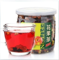 2012HOT!180g 100% Apple tea NATURAL flower tea and fruit tea +Secret Gift+free shipping(China (Mainland))