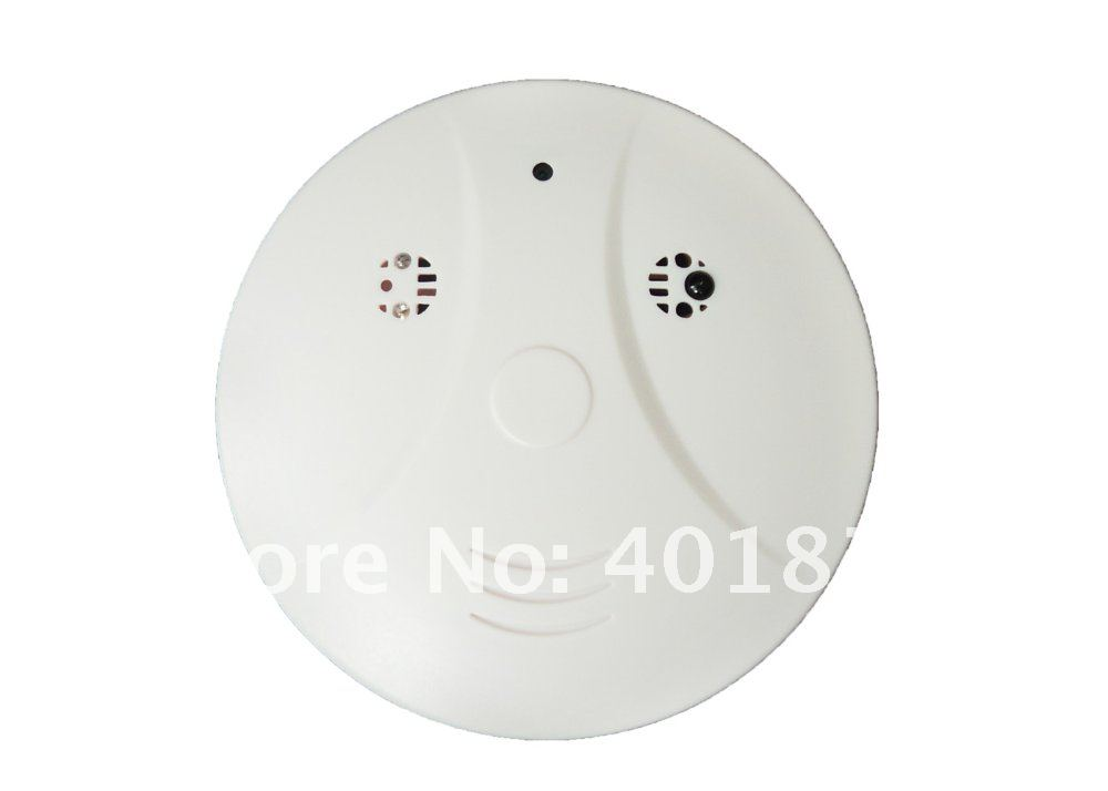 Remote control Smoke Detector Alarm Home security mini DVR hidden camera Recorder Motion Sensor 720*480 30pcs/lot dhl freeship(China (Mainland))