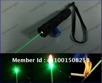 Amazing green laser, Burn matches 400mw/500mw/ 1000mw Strong power green laser, Free Charger + rechargea battery+ gift box