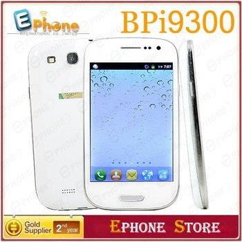 """MTK6515 BP- I9300 ( I9300 ) Android OS v2.3.6 : pantalla capacitiva de 4.0 """" táctil de la pulgada WIFI teléfono inteligente + caso libre"""