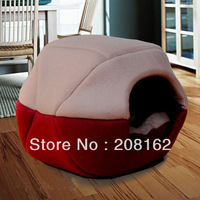 Red Autumn And Winter Removable Sofa Dome Pet House Kennel With Mats With Bed Mats Cat nest