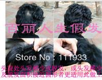 Free Shipping*100% Human Hair Wig for Female 4 -lbj1