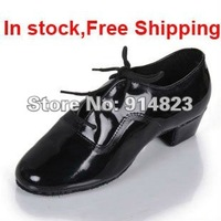 In stock Fashion Children's shoes boy's Dance shoes Children's Latin Dance shoes  Free Shipping