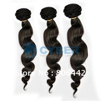 "Holiday Sale Hot Sale!! Human Hair Brazilian Remy Hair Virgin Wavy Weft Extensions 16""/ 18""/ 20"" Natural Color"