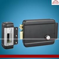 wholesale Black spray Intercom electric  control lock for door