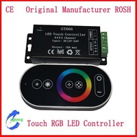 DC12-24V   6A X 3CH Touch RGB LED Controller