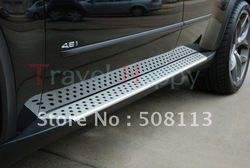 aluminum alloy & engineering plastics running board / side step / side bar for BMW X5(China (Mainland))