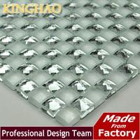 KINGHAO - Mirror Tile Silver Mirror Mosaic Tile13MYB518 TV KTV Background Wall glass crystal mosaic tile