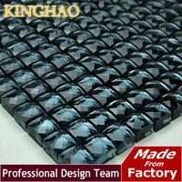 KINGHAO - Mirror Tile Grays Mirror Mosaic Tile 13QH518 TV KTV Background Wall glass crystal mosaic tile