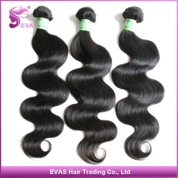 Body Wave Virgin 22 inch Indian Hair 3 pieces lots Wholesale 12 inch to 30 inch Mixed Lengths Available(China (Mainland))