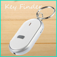 1PCS Keys Chain Whistle Sound Control Key Finder Locator Find Lost Keychain LED