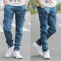 2013  harem pants wholesale and retail casual male sports skinny  fashion men sports pants