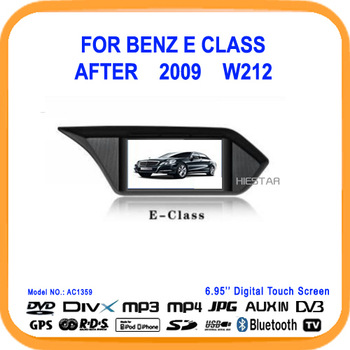 Special Car DVD player for Mercedes Benz E class after 2009 W212 With GPS Navigation Radio AM FM Car Free MAP Gift(AC1359)