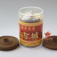 Agalloch eaglewood incense coils,4.5cm 60 coils 1h.Herbal incense.Famous gucheng incense.Natural ingredients,be good to health.