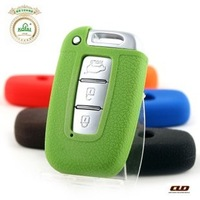 Free shipping Hot-selling Modern ix35 sonata KIA k5 silica gel key wallet key protective case wholesale and retail