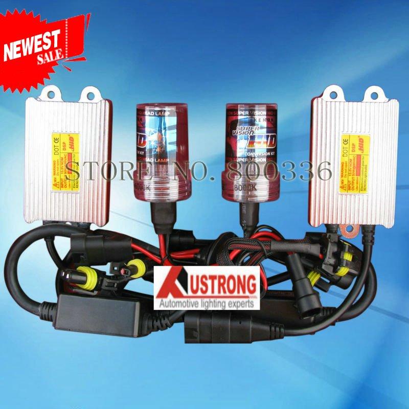 Slim kit caché au xénon h1 h3 h4 h7 h11 55w kit caché ballast canbus 3000k--- 30000k lampe au xénon de voiture livraison gratuite