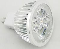 On sales retail MR16 GU5.3 220V 110V 9W Dimmable LED SpotLight bulb Bulbs Energy Saver lamps downlights 3X3W E27 4X3W