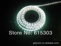 wholesale waterproof  220v 5mSMD5050 3chips flexible led strip light