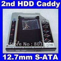 New 2nd HDD SSD Hard disk drive caddy Adapter Bay for HP ProBook 6470b 6475b 6565b 6570b