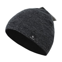 Caps Hats Women Men Unisex Winter and Autumn Of Black Beanies 100% Cotton Kenmont Brand Free Shipping KM -1366