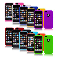 10 Pieces/Lot Silicone Soft Gel Protect Skin Case Cover For iphone 5 5G, 10 x Color Free shipping