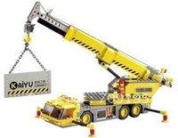 Christmas gift Enlighten Child 8045 educational toys crane KAZI DIY toys building block sets,children toys for kid free Shipping