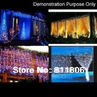 901743-YL-001 2x3m 200-LED 8-mode Net String Light Festival Lamp for Christmas Halloween-Blue EU plug  Free shipping