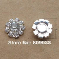 Sparkly Small Rhinestone Button For  Wedding Stationery-----BU141-02