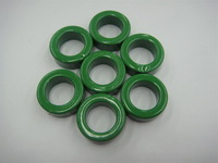 samples support green coated  toroidal inductor/transformer  or cable filter  ferrite core/ring T22*14*8mm, 100pcs/lot