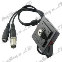Mini HD box 6mm Screw lens 600TVL 1/3 CMOS Security Color CCTV Camera