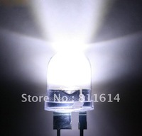 NEW 5000 PCS 0.5W 10mm led light white 290,000mcd water clear lens