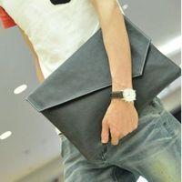 Free shipping fashion crocodile pattern day clutch envelope file bag men's vintage briefcase 1020