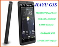 "NEW!!!  JIAYU G3S   4.5"" HD 1280x720 Screen Android 4.0 OS MTK6589 Quadl Core 8MP Camera GPS free shipping"