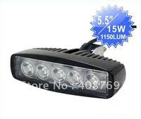 5.5inch 15W Led work Light,led lighting bar, high lumen led work lamp
