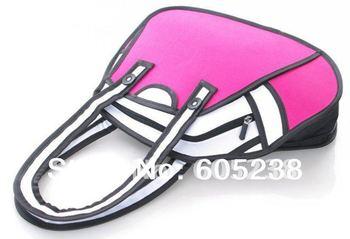 FASHIONCartoon 3D Shoulder Messenger Bag Gismo Cartoon Bag (Pink Style)