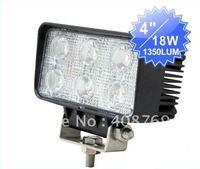 High quality 18W,offroad 4'' led working light High power, the spotlight, high brightness waterproof 18W led work light