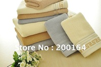 Retail 1Set Hot Sale 100% Cotton Terry Cloth Towel Set Include 1PC 70x140cm Bath Towel+2PC 37X80cm Hand Face Beauty Towels020401