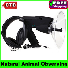 Free Shipping Natural Bird&amp;amp;Animals Observing, Telescope + Electronic Listening + Digital Voice Recording(China (Mainland))