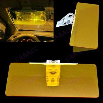 New Sun Visor Extension Clip Shield  Auto Anti-glare Car sunglasses Sunshade Adjustable For Driving (SD - 2301) Yellow  6828