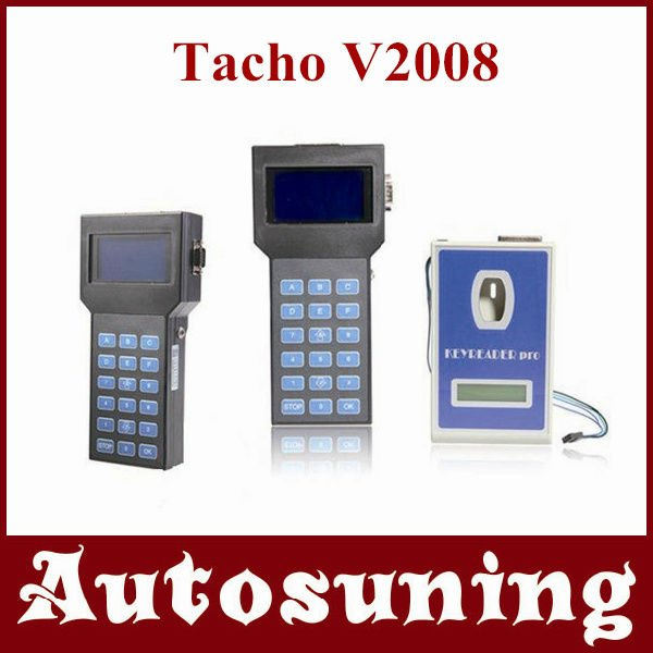 Hotsale Stable Speedometers Programming Device Tacho V2008.7 Unlock Universal Dash Programmer Mileage Change Tool Tacho Pro 2008(China (Mainland))