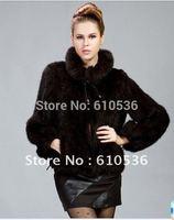Free Shipping 100% Real Mink Fur Jacket Coat With Zip Women Clothing Jacket Luxury Vintage Winter Coat Women furs